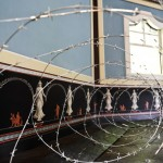 DORNRÖSCHEN - Environment, barb wire installation, Tilmann Krumrey, 2010
