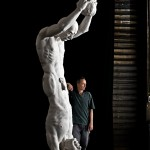 CAIN and ABLE - plaster, 317 cm - Tilmann Krumrey, 2006 - 2010