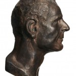 H E A D 3 – bronze, from 100 Beings 100 Heads 22.7 cm x 11.4 cm x 16.7 cm - Tilmann Krumrey, 2008