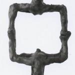 PRESSURE DROP - wax bozzetto, Tilmann Krumrey, 1997